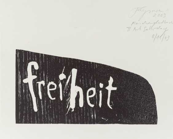 FELIX DROESE 1950 Singing 'FREEDOM' - photo 1