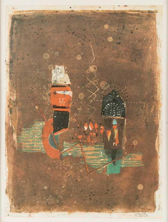 JOHNNY FRIEDLAENDER 1912 Pszczyna, Poland - 1992 Paris, COLLECTION OF THREE WORKS - photo 1