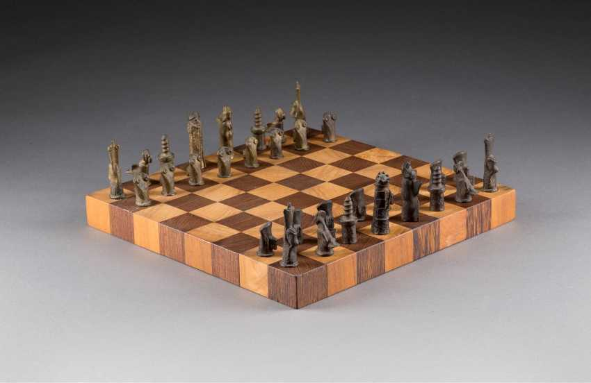 WOLFGANG FRESHNESS 1946 Uedem chess game - photo 1