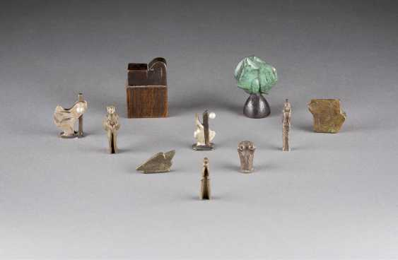 WOLFGANG FRESHNESS 1946 Uedem set OF TEN small sculptures - photo 1