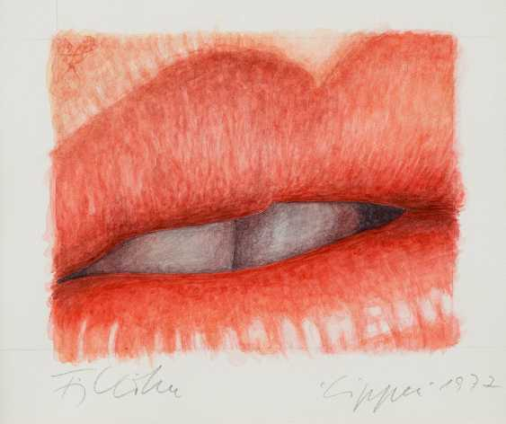 FRITZ KÖTHE 1916 Berlin, 2005 ibid 'LIPS' (1977) - photo 1