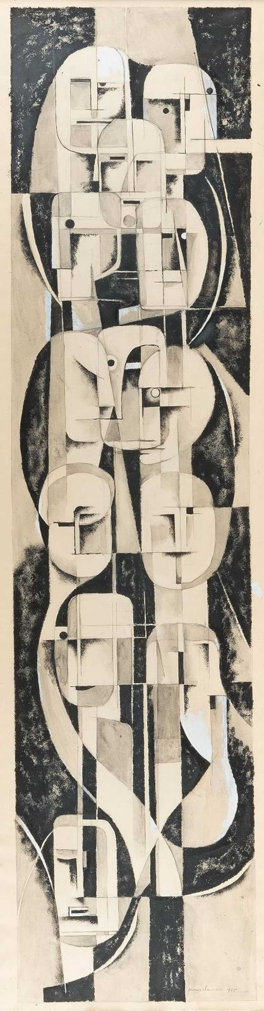 HANNS LAMERS 1897 Kleve - 1966 ibid CONVOLUTE consists OF FOUR WORK - photo 1