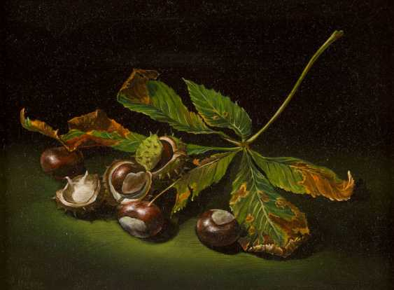 CHARLES QUANTITY of 1920 Granges - 2009 in Switzerland, still-life WITH horse chestnuts - photo 1