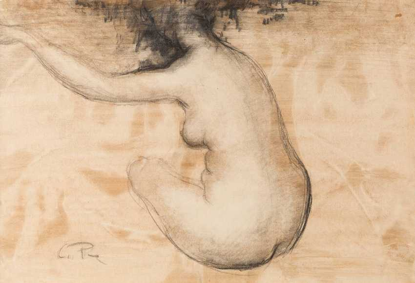 CLEMENS PASCH 1910 Issum, Sevelen - 1985 Dusseldorf FEMALE Nude seen from the back - photo 1
