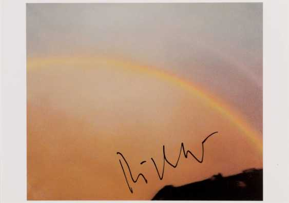 GERHARD RICHTER 1932 Dresden - lives and works in Cologne and Düsseldorf, the 'RAINBOW' (1970) - photo 1