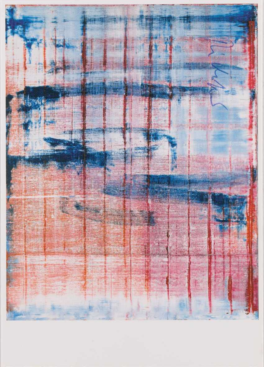 GERHARD RICHTER 1932 Dresden - lives and works in Cologne and Düsseldorf 'MARCH' (1994) - photo 1