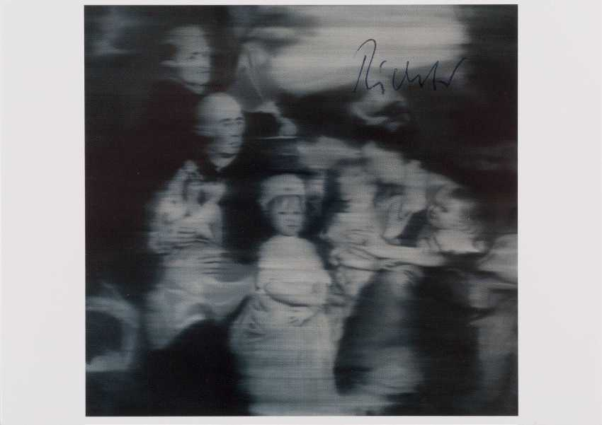 GERHARD RICHTER 1932 Dresden - lives and works in Cologne and Düsseldorf 'FAMILY ACCORDING to the OLD MASTERS' (1965) - photo 1