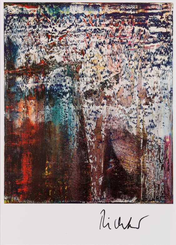 GERHARD RICHTER 1932 Dresden - lives and works in Cologne and Düsseldorf, the 'ROCK' (1989) - photo 1