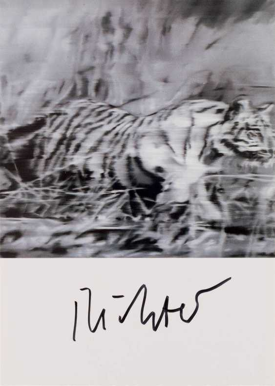 GERHARD RICHTER 1932 Dresden - lives and works in Cologne and Düsseldorf, the 'TIGER' (1965) - photo 1