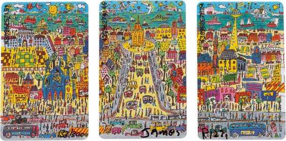 JAMES RIZZI 1950 New York - 2011 ibid CONVOLUTE OF THREE cities editions ('HEILBRONN', 'HEIDELBERG' AND 'MANNHEIM') - photo 1