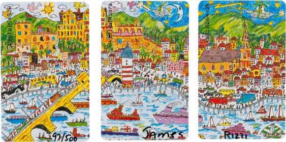 JAMES RIZZI 1950 New York - 2011 ibid CONVOLUTE OF THREE cities editions ('HEILBRONN', 'HEIDELBERG' AND 'MANNHEIM') - photo 2