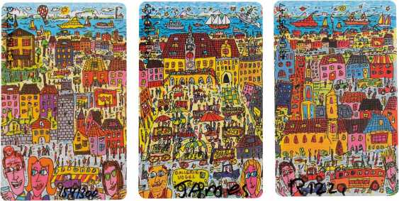 JAMES RIZZI 1950 New York - 2011 ibid CONVOLUTE OF THREE cities editions ('HEILBRONN', 'HEIDELBERG' AND 'MANNHEIM') - photo 3
