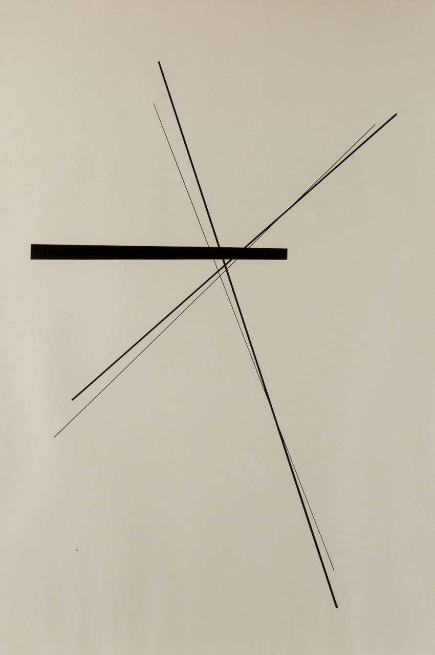 HANS ROMPEL 1910 in Wuppertal - 1981 Düsseldorf 'COMPOSITION 48/20' (1959) - photo 1