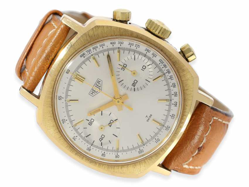 Watch: rare vintage Heuer Chronograph cal. Valjoux 7730, 60s - photo 1