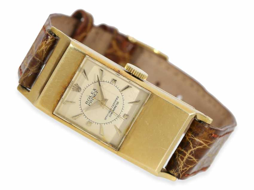 Armbanduhr: extrem rares Rolex Prince Chronometer mit