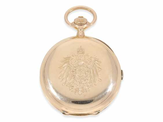 Pocket watch: unique Anchor chronometer with Chronograph Subdials, Pavel Buhre, supplier to the Royal household of his Majesty, No. 53450, probably Präsentuhr of Kaiser Wilhelm II to the Russian Tsar in 1896 - photo 8