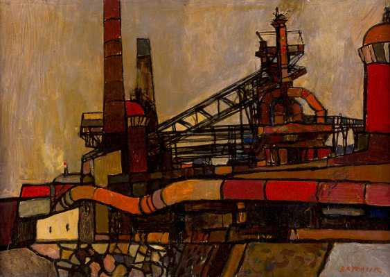 LUBOMIR TKACIK 1949, active in the Czech Republic, VIEWS of THE industrial city of OSTRAVA (OSTRAU) - photo 1
