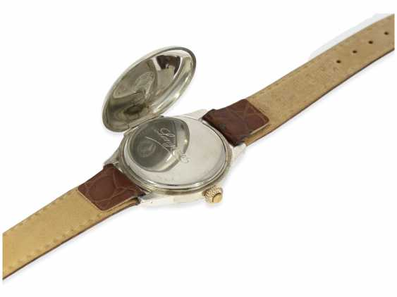 Watch: Longines rare, very early, a large Chronograph with enamel dial and a special signature Riganti Bangkok, Longines in 1926, with the master excerpt from the book - photo 4