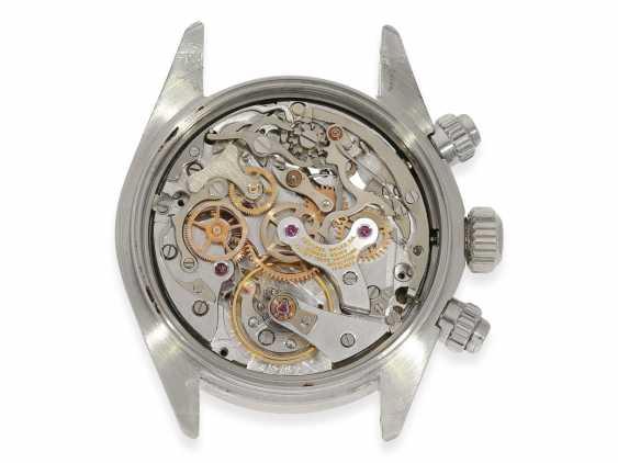 """Armbanduhr: vintage Rolex Oyster Chronograph """"Daytona"""", Ref.6265, ca.1978, Box und Servicepapiere von 2019 - Foto 10"""