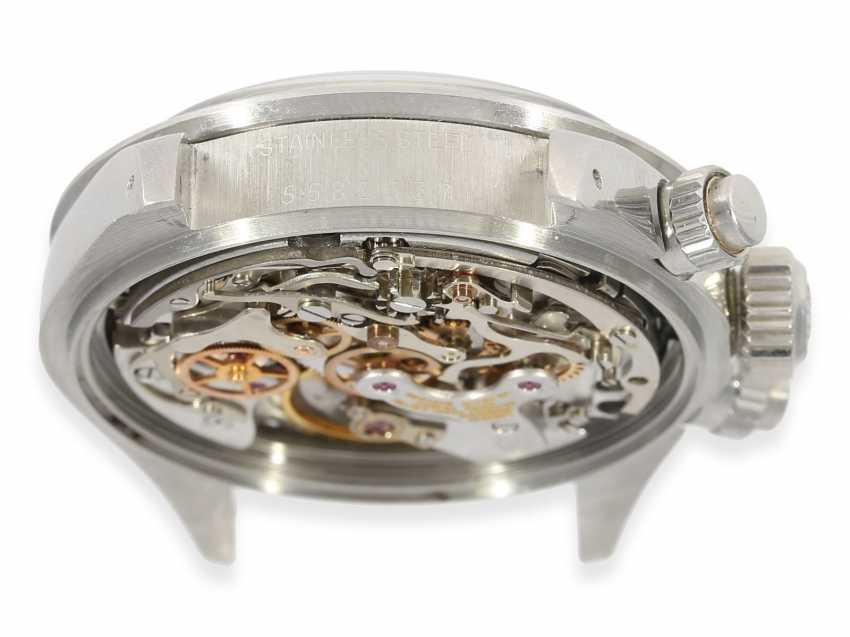 """Armbanduhr: vintage Rolex Oyster Chronograph """"Daytona"""", Ref.6265, ca.1978, Box und Servicepapiere von 2019 - Foto 12"""