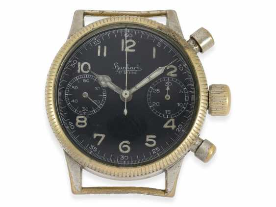 Watch: vintage WW2 military watch, in the past, Hanhart Flyback Chronograph, pilot's watch, cal.41, CA. 1944 - photo 1
