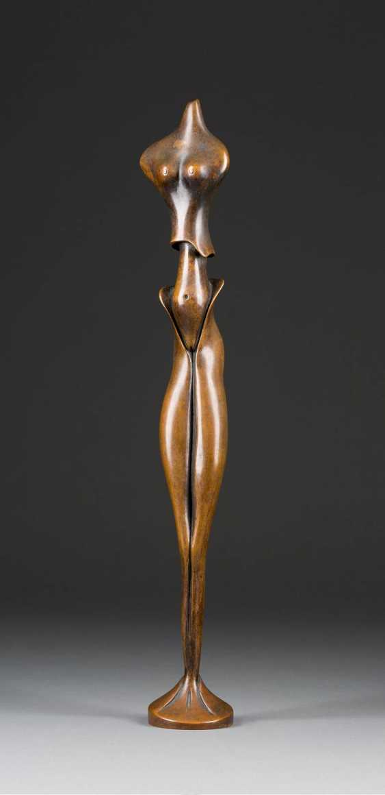 UNKNOWN image sculptor Active 2. Half of the 20. Century STANDING FEMALE TORSO - photo 1