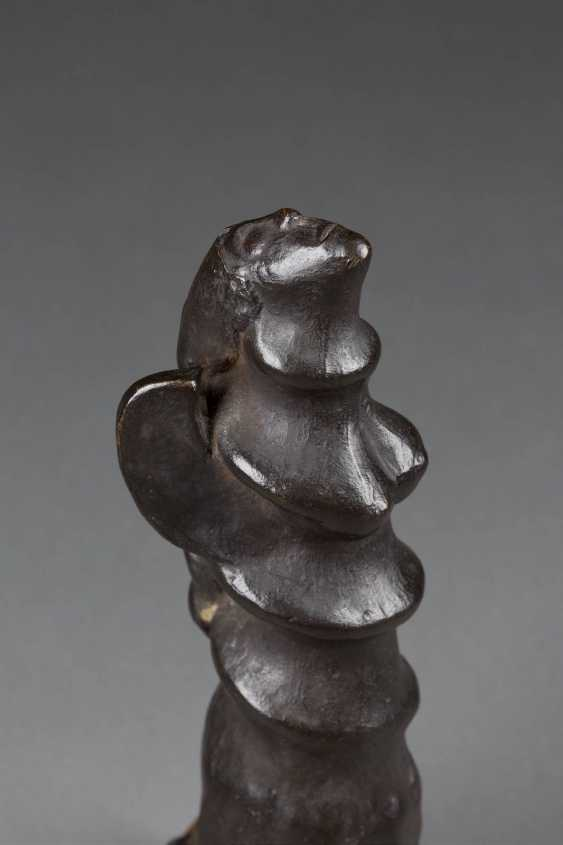 UNKNOWN image sculptor Active 2. Half of the 20. Century ABSTRACT REPRESENTATION OF an ANGEL - photo 2