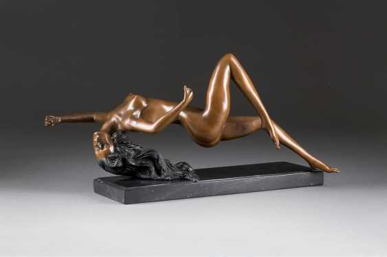 UNKNOWN image sculptor Active 2. Half of the 20. Century floating half of the female Nude - photo 1