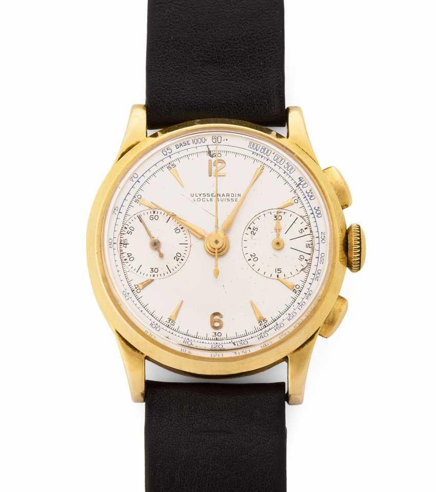 Ulysse Nardin Schaltradchronograph