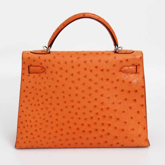 "HERMÈS exquisite icons-handle bag ""SELLIER KELLY BAG 32"" - photo 4"