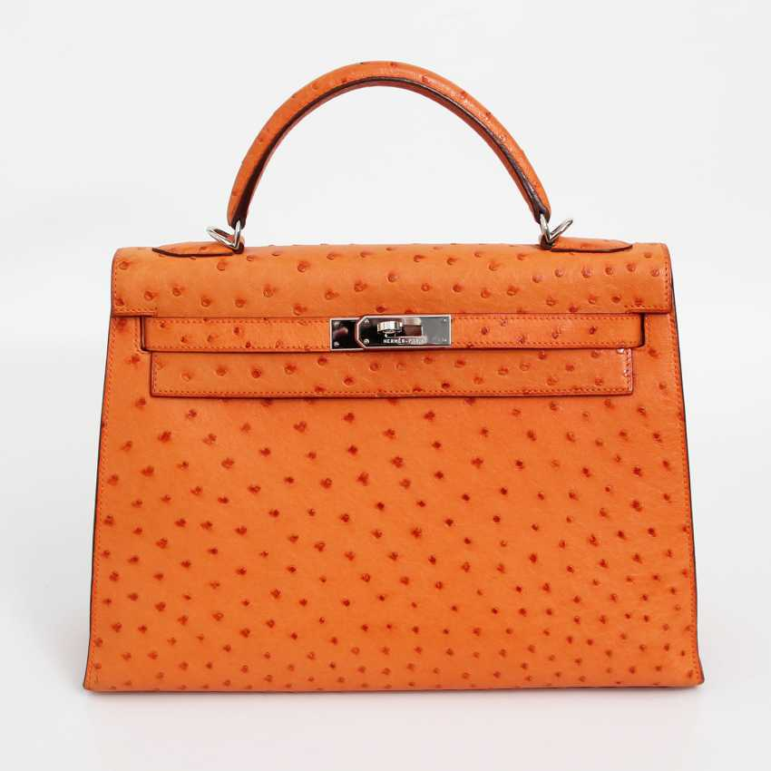 "HERMÈS exquisite icons-handle bag ""SELLIER KELLY BAG 32"" - photo 1"