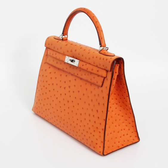 "HERMÈS exquisite icons-handle bag ""SELLIER KELLY BAG 32"" - photo 2"