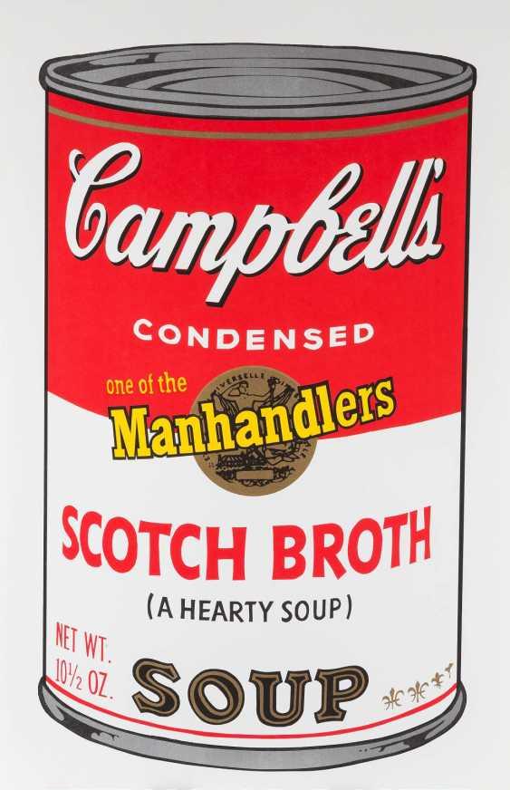 ANDY WARHOL (NACH) 1928 Pittsburgh - 1987 New York  CAMPBELL'S SOUP - KONVOLUT VON ZEHN BLÄTTERN - photo 1
