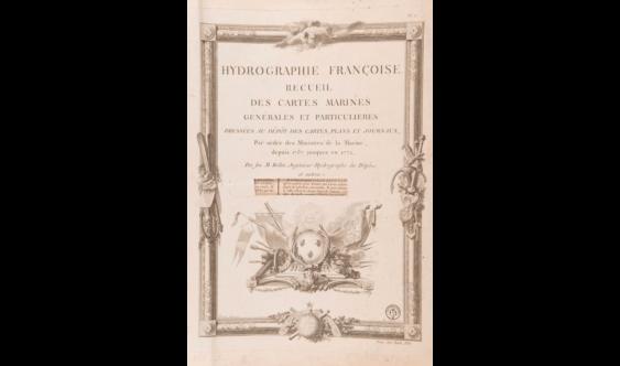 ATLAS BELLIN (Jacques-Nicolas) - Hydrography Françoise.