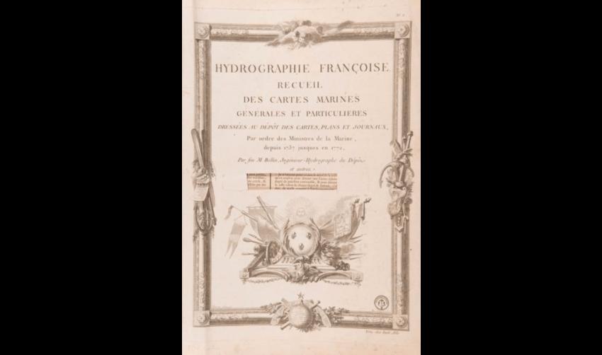 ATLAS BELLIN (Jacques-Nicolas) - Hydrography Françoise. - photo 4