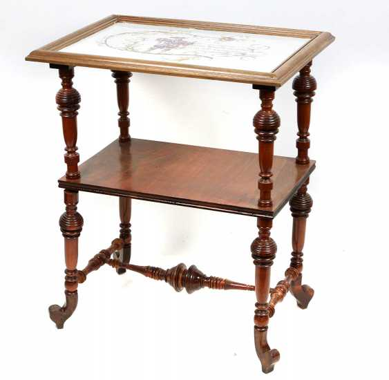 Historicism side table 1880 - photo 4