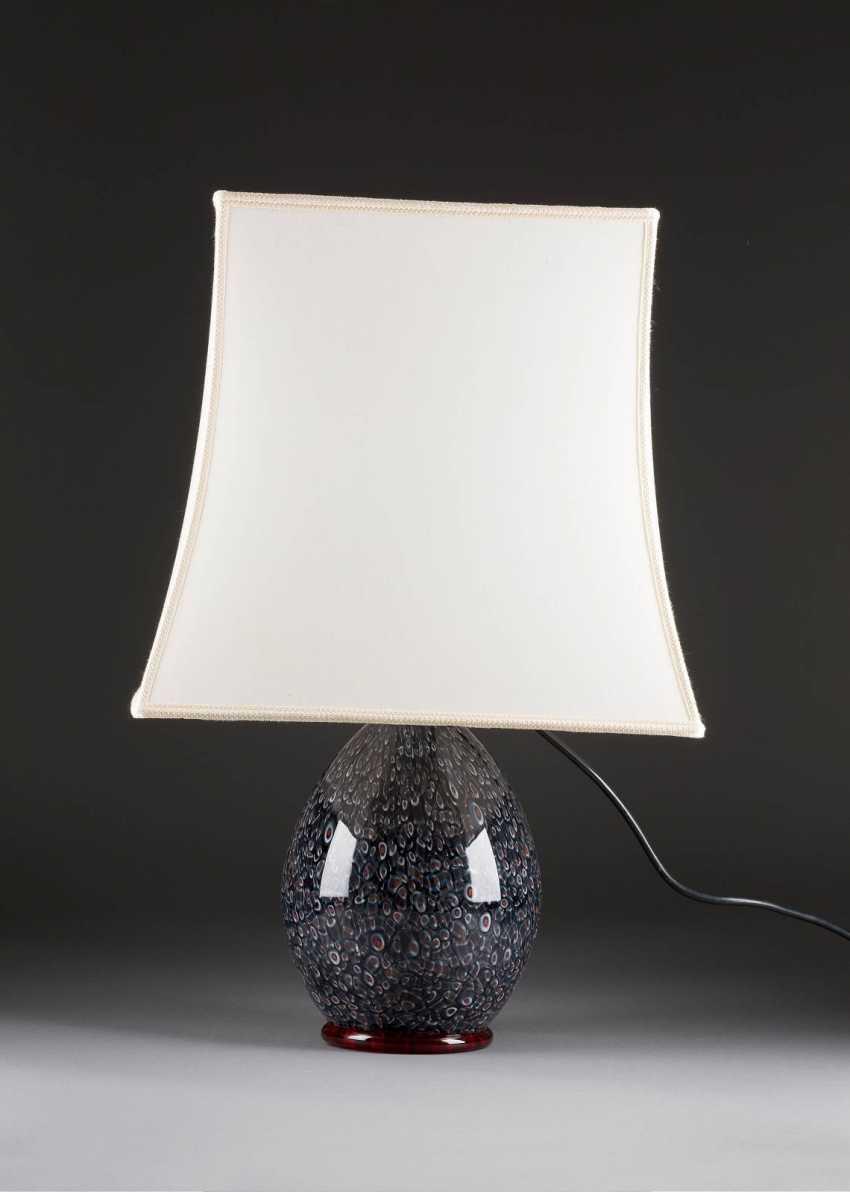 GROSSE GLASLAMPE: 'MILLE FLEUR' - photo 2