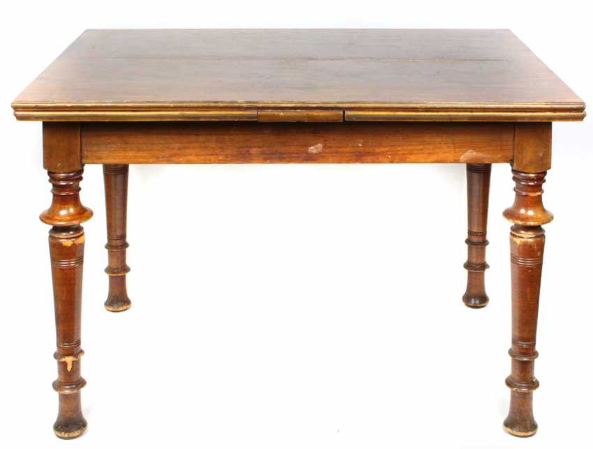 Walnut table, around 1900 - photo 1