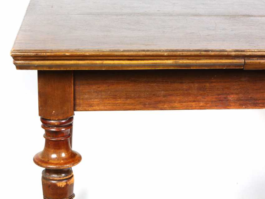 Walnut table, around 1900 - photo 2