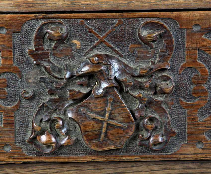 carved historicism chest to 1880 - photo 3
