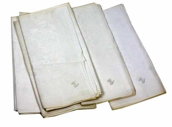 6 art Nouveau napkin around 1900 - photo 1