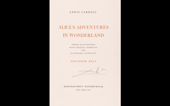 CAROLL (Lewis) – DALI (Salvador) – Alice's Adventures in Wonderland. - photo 1