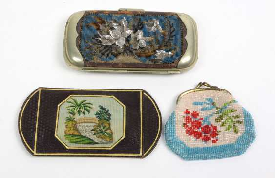 Glass bead embroidery, among others - photo 1