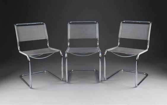 marcel breuer 1902 p cs ungarn 1981 new york city drei. Black Bedroom Furniture Sets. Home Design Ideas