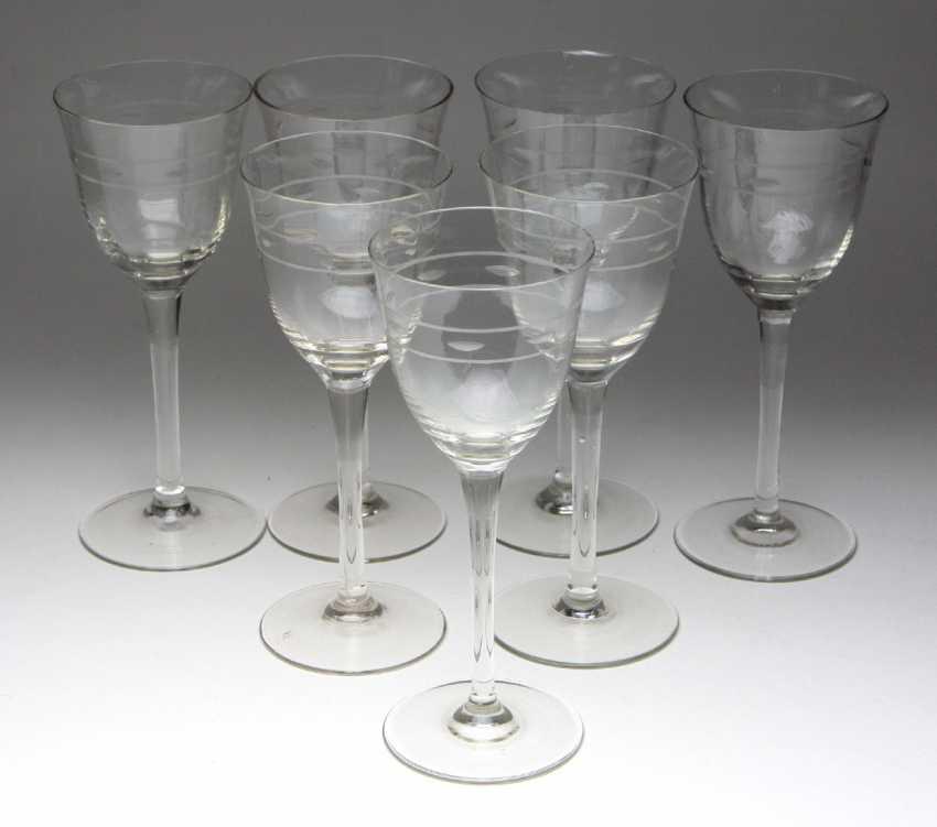 Set of Wine glasses 1920s - photo 1