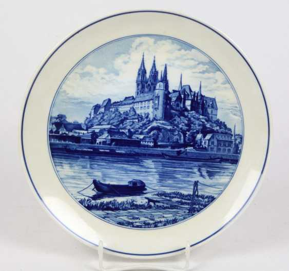 Meissen View Plates *The Albrecht Castle* - photo 1
