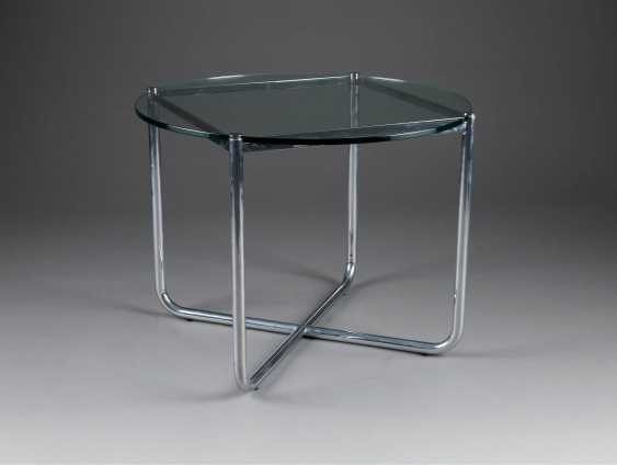 LUDWIG MIES VAN DER ROHE 1886 Aachen - 1969 Chicago  'MR 10 COFFEE TABLE' (ENTWURF 1927) - photo 1