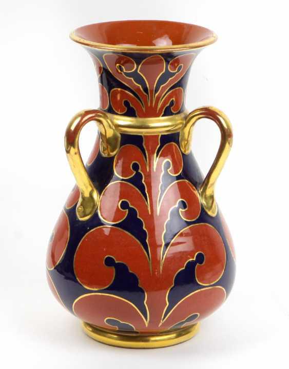 Кадинен Три-Henkel ваза около 1920 - фото 1