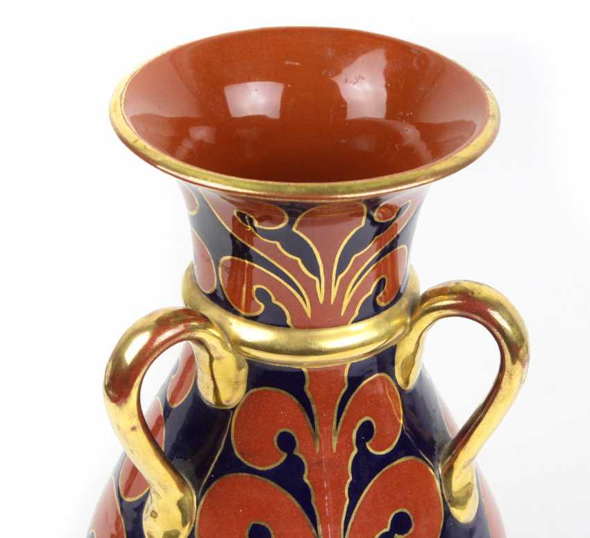 Кадинен Три-Henkel ваза около 1920 - фото 2