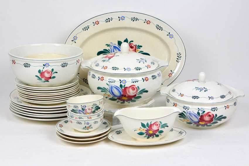 Villeroy & Boch dinner service hand-painted - photo 1